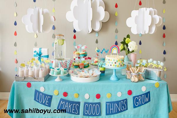 Baby shower nedir, baby shower nasıl düzenlenir, baby shower partisi düzenleme